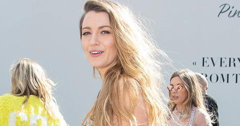 Blake lively christian dior show paris fashion week pics
