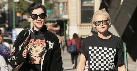 *EXCLUSIVE* Kristen Stewart and St. Vincent hit the streets of NYC together