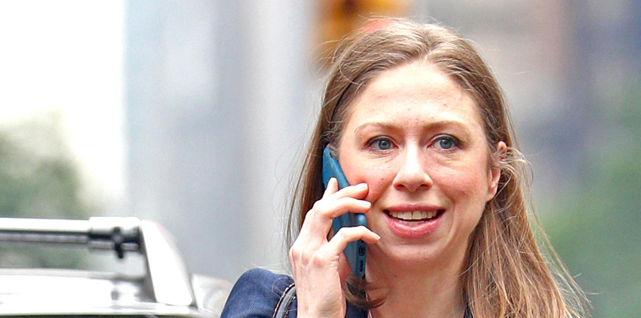 Chelsea clinton husband marc baby charlotte feature
