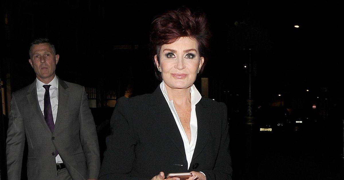 sharon osbourne sighted public first time the talk racism drama covid  vaccine
