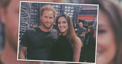 Prince Harry Dating Olivia Tallent Photos