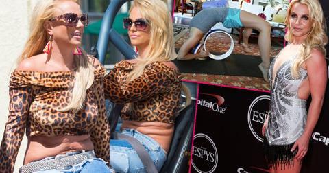 Britney spears weight loss diet iggy azalea video gut rolls
