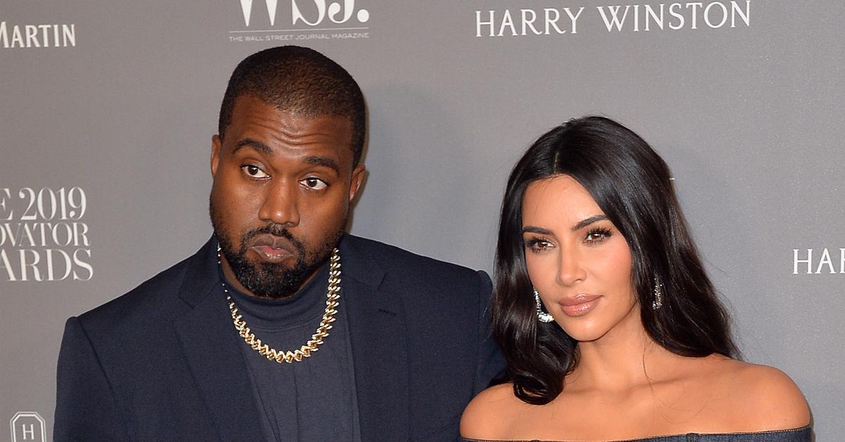 OK! Magazine - The Latest On Kim and Kanye's Divorce - cover
