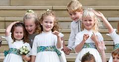 Prince george princess charlotte princess eugenie wedding pp