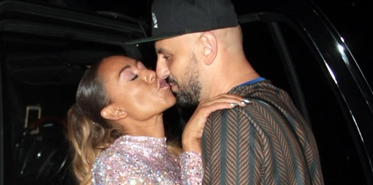 Mel b kisses boyfriend gary madatyan simon cowell party pics