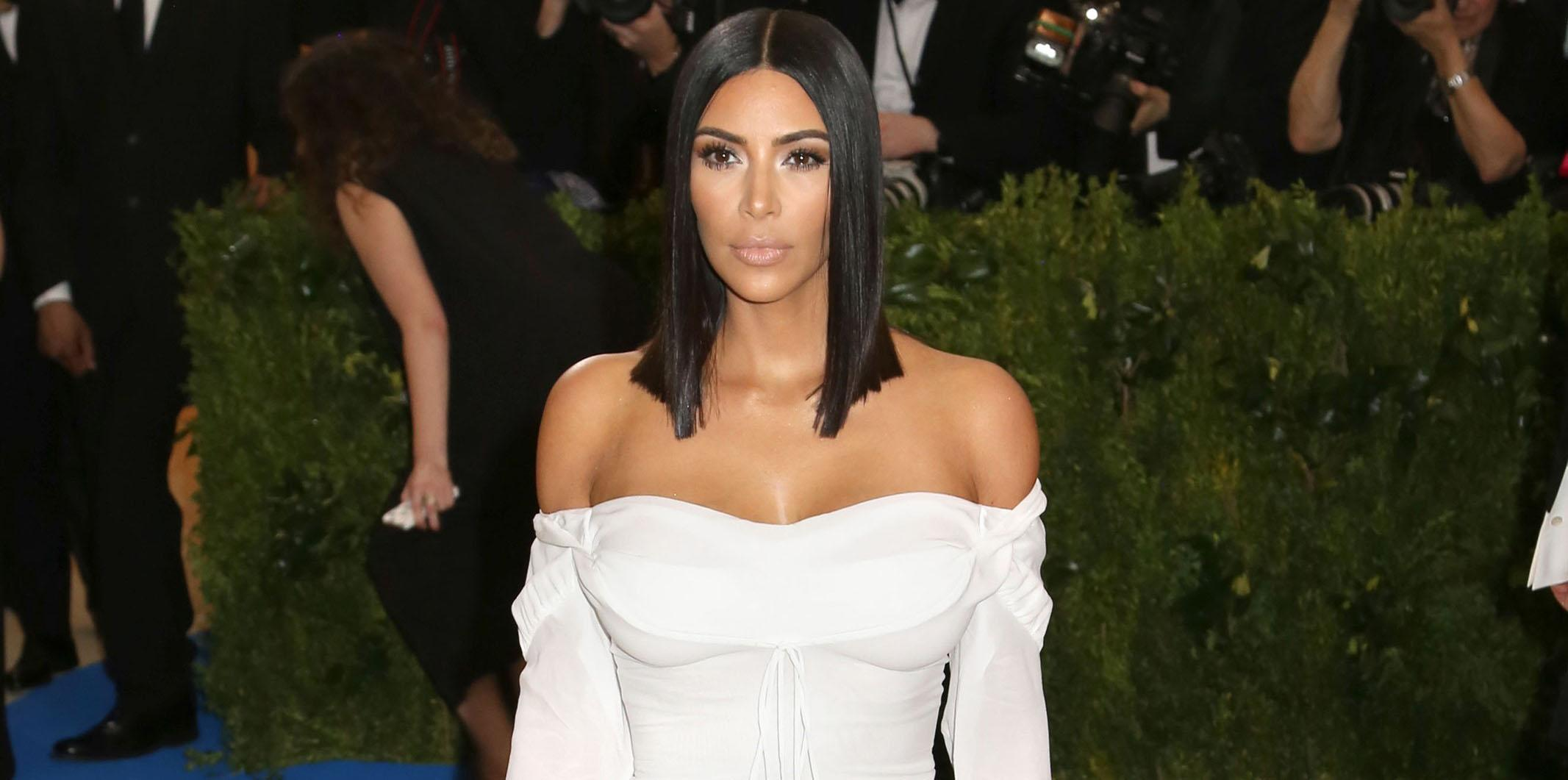 Kim Kardashian wows in white for the 2017 Met Gala
