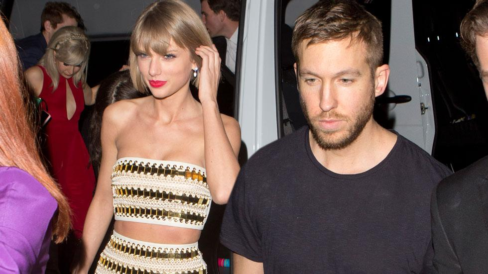 Taylor Swift Calvin Harris Grammy After Parties 2016 Celebrities