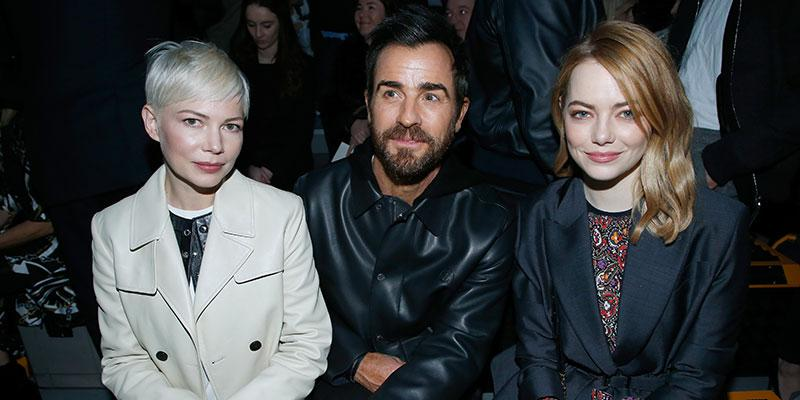 Emma stone justin theroux spotted together main