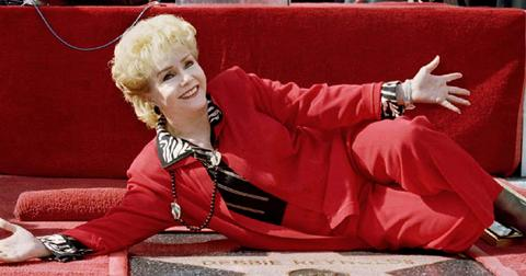FILE PHOTO: Debbie Reynolds arrives at the 40th anniversary restoration of the film 'Cabaret' at the 2012 TCM Classic Film Festival in Hollywood