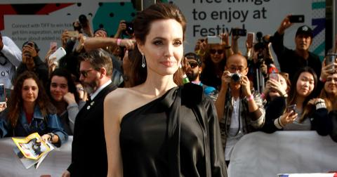 Angelina jolie movie premiere