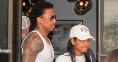 *EXCLUSIVE* Nick Cannon and former flame Christina Milian reunite for sushi