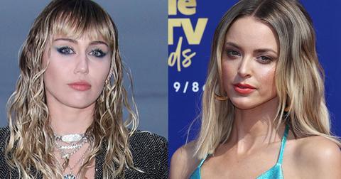 Miley Cyrus Kaitlynn Carter Back LA