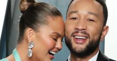 Chrissy Teigen dazzled in a teal flowing dress as her husband, John Legend, looked handsome in a classic tuxedo.