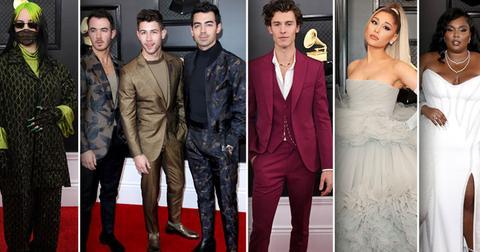 Grammy Awards 2020 Celebrity Red Carpet Arrival Photos Looks