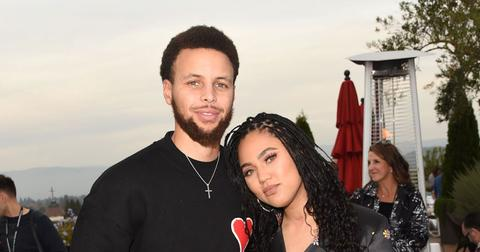 Ayesha And Steph Curry At Event PDA