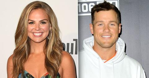 //Colton Underwood Prays For Hannah Brown PP