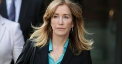 Felicity Huffman At Court Checks Into Prison College Admissions Case Sentence