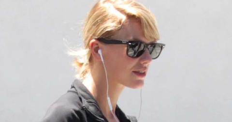Taylor Swift keeps a low profile at leaving her gym
