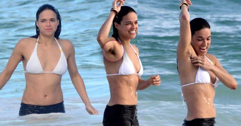 Michelle rodriguez bikini armpit hair pp