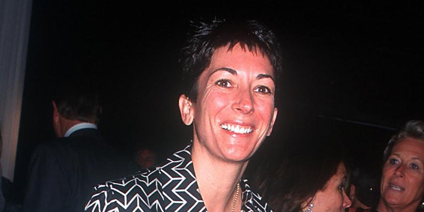Ghislaine Maxwell in New York in 2000.