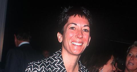 Ghislaine Maxwell in New York in 2000.