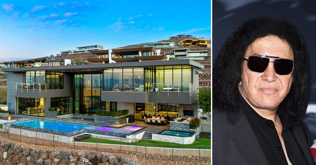 gene simmons lists his las vegas valley estate for