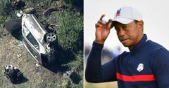 tiger woods no criminal charges accident ok