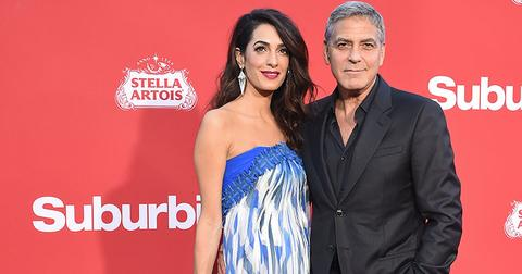 George amal clooney first meet at home main