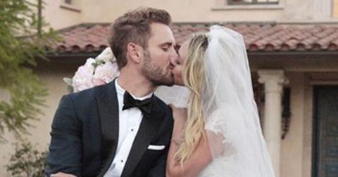 Corinne olympios ring engaged rumors the bachelor nick viall hero