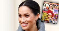 Meghan markle x mas issue cover story post pic