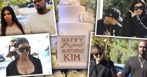 Kim kardashian birthday party
