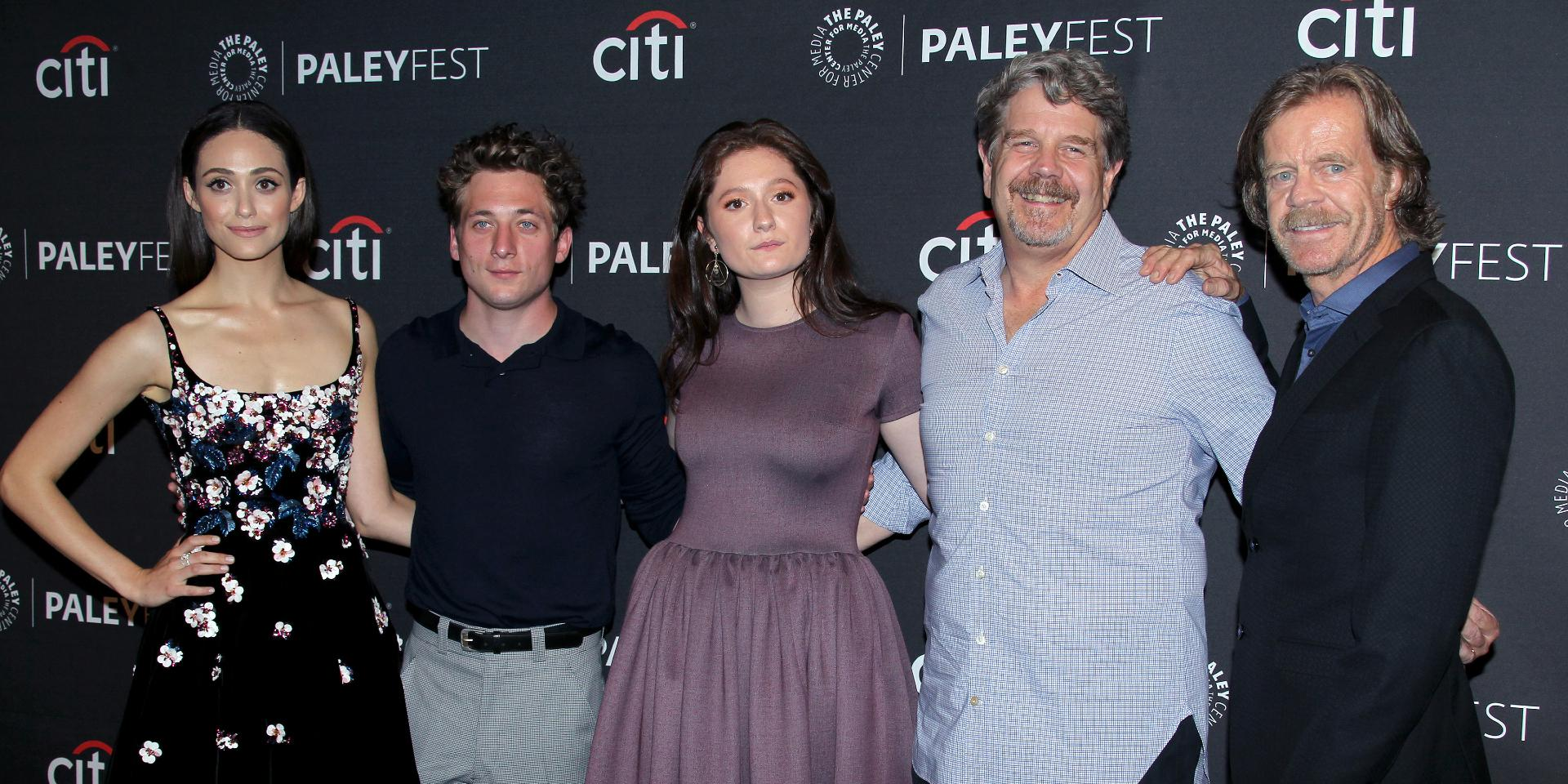 """""""Shameless"""" cast at the 11th Annual PaleyFest Fall TV Previews held at The Paley Center for Media."""