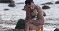 EXCLUSIVE: Hayden Panettiere looking for shells on the beach in Hawaii.