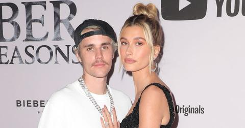 Justin Bieber And Hailey Baldwin On Red Carpet
