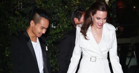 Angelina jolie dating ban maddox wide