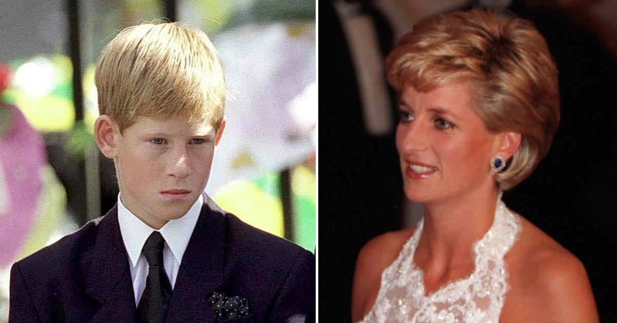 prince harry princess diana pp