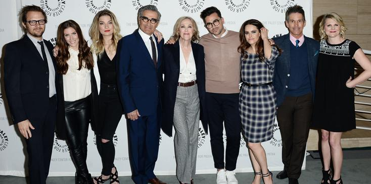"""Paley Center For Media Presents PaleyLive LA: An Evening With """"Schitt's Creek"""" – Arrivals"""