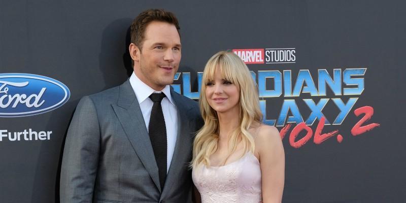 Chris pratt anna faris divorce custody of son