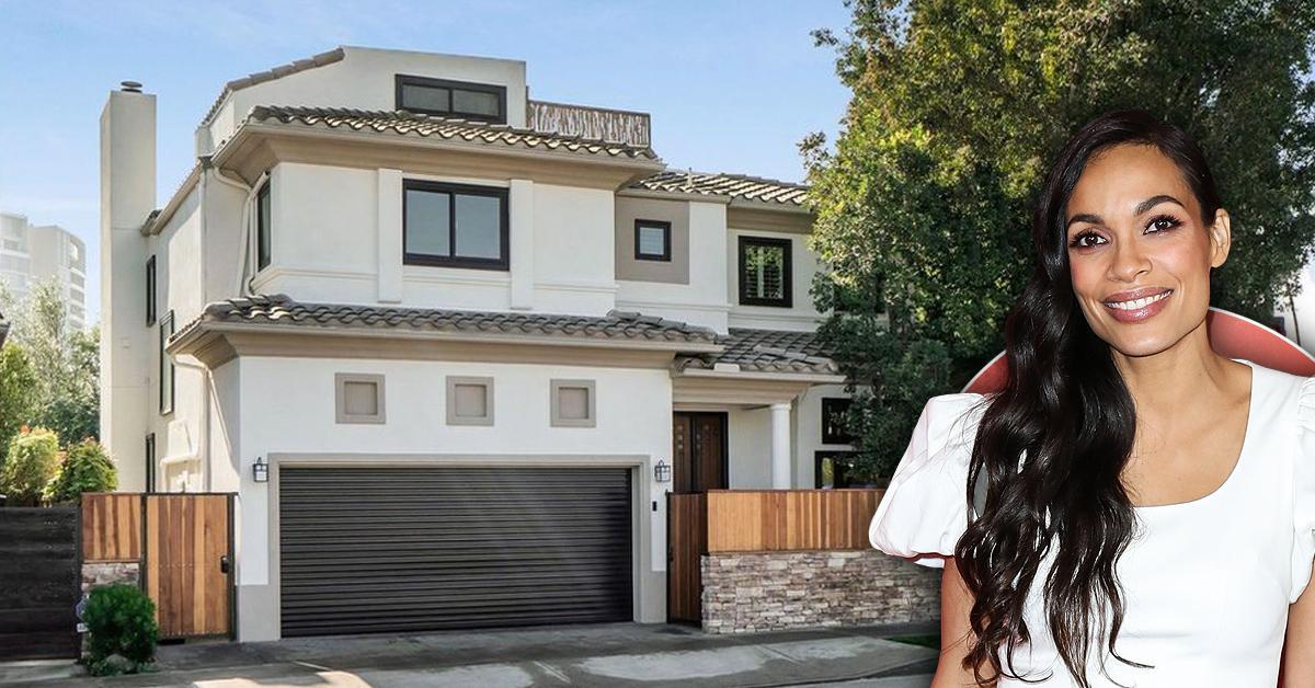 Rosario Dawson Is Leaving West Coast Life Behind — Inside Her $2.28 Million Former Modern Mediterranean Oasis