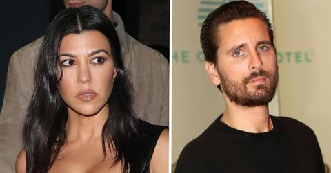mixed messages scott disick kourtney kardashian