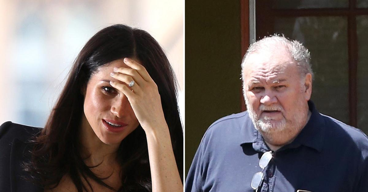 'Absolutely Repulsed': Meghan Markle 'Doesn't Want Anything To Do With' Estranged Father Thomas As He Plans Bombshell Doc