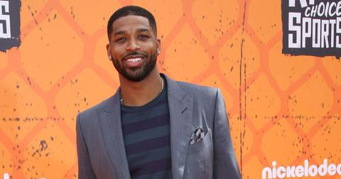 Tristan Thompson On Red Carpet