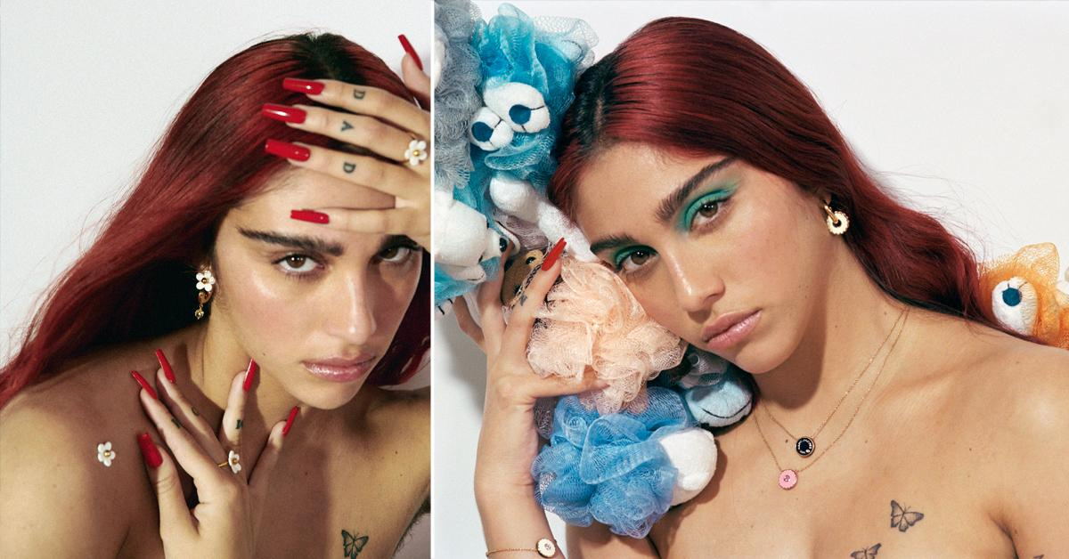 Madonna's Daughter Lourdes Leon Brings The Heat In Marc Jacobs Spring Collection — And Even Shows Off Her Unshaven Armpits