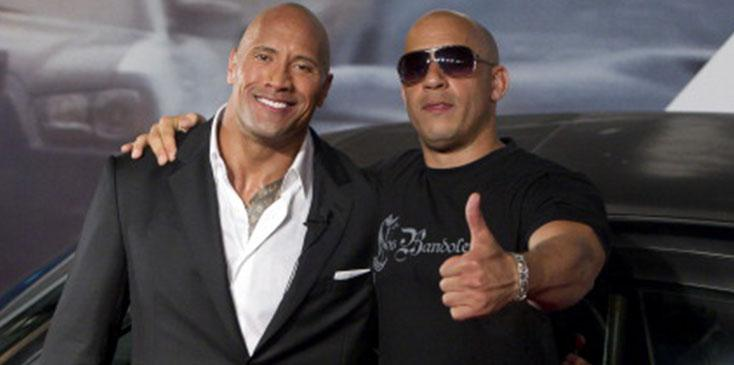 The rock opens up about feud with vin diesel