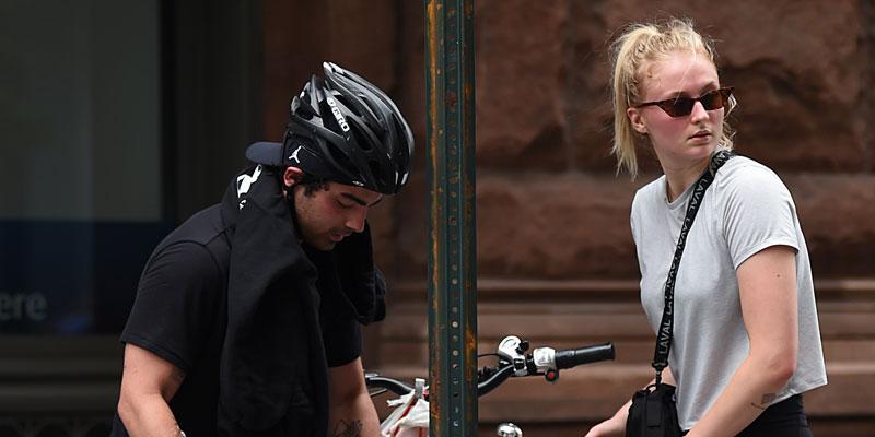 joe jonas and sophie turner bike ride header