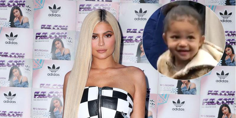 Kylie Jenner On Red Carpet Stormi Inset