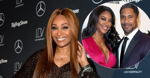 Cynthia Bailey Smiling On Red Carpet Claims Kenya Moore Still Love Husband Marc Daly
