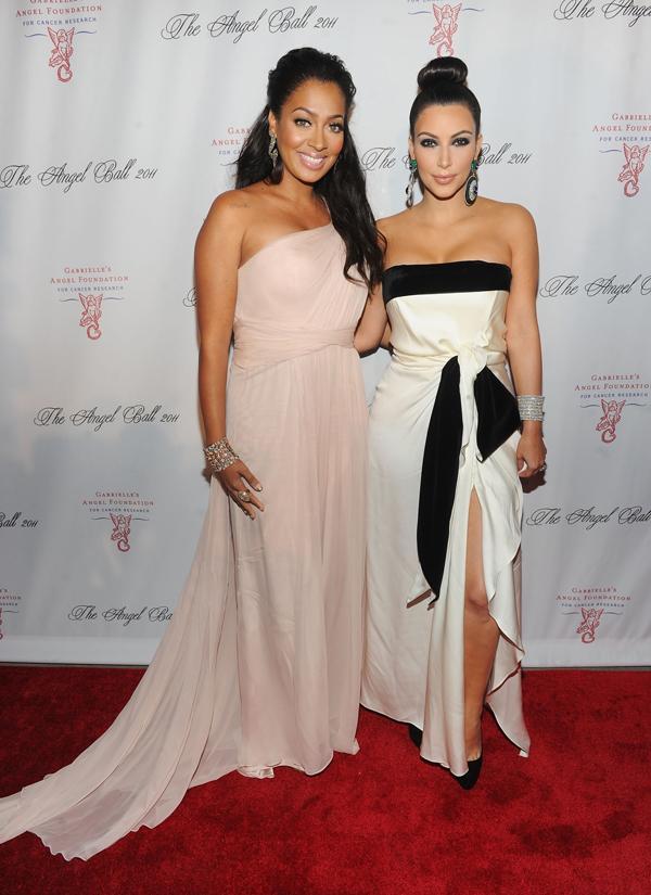 Kim Kardashian LaLa Anthony