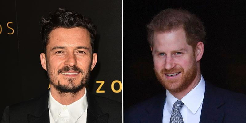 Orlando Bloom Prince Harry PP