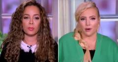 sunny hostin meghan mccain fight over faucci pp